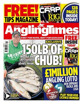 Angling times april 5th 2011 anglers 39 net for Best time to fish tomorrow
