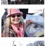 Sea anglers protest outside Fisheries Minister George Eustice's constituency office in Camborne, Cornwall. Pictures by Matt Spence