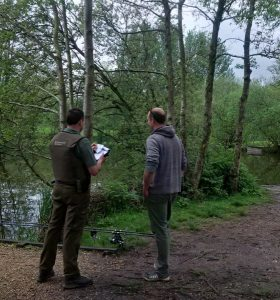 rod licence checking