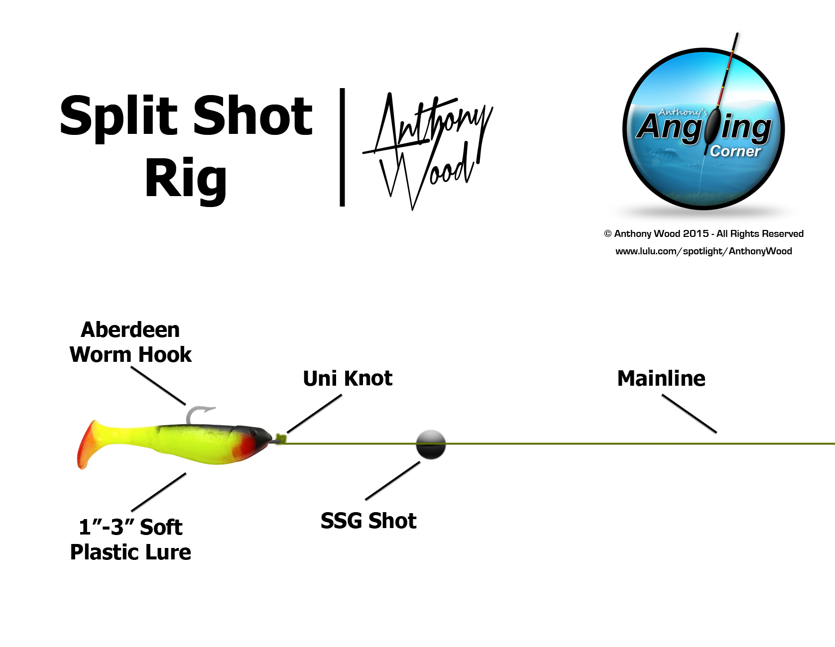 American style rigs perfect for lrf anglers 39 net for Split shot fishing