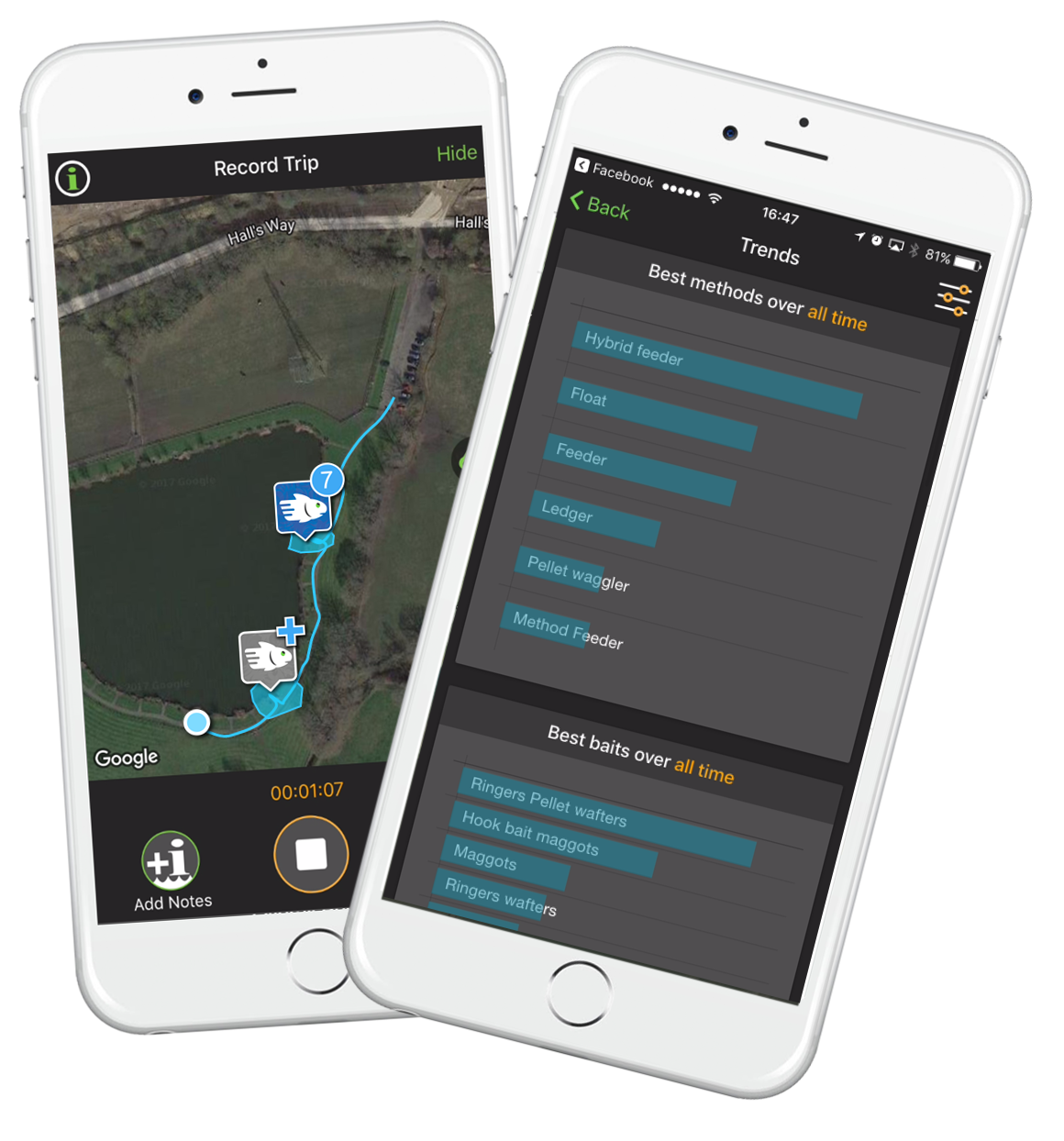 Finygo the new gps fishing app anglers 39 net for Fishing gps apps