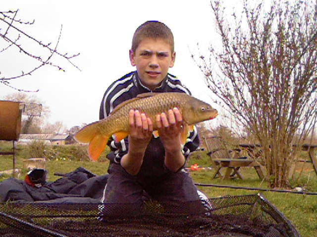 me and my first year carp fishing